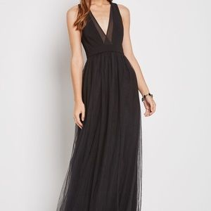 BCBGeneration Tulle Evening Dress