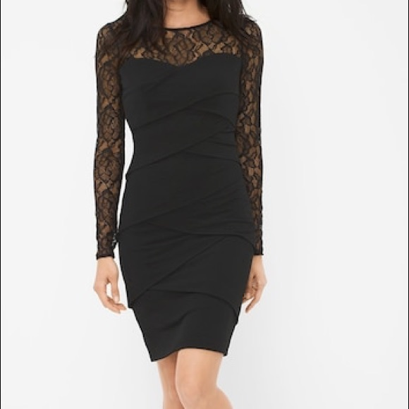 34155bc7b47d6 White House Black Market Dresses | Nwt Lace Instantly Slimming Dress ...