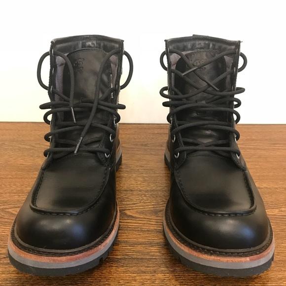 e175c61704b UGG Australia Men's Noxon Waterproof Leather Boot