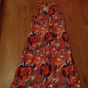 NEW! NWT! ASHLEY STEWART Long Maxi Dress Sz 16