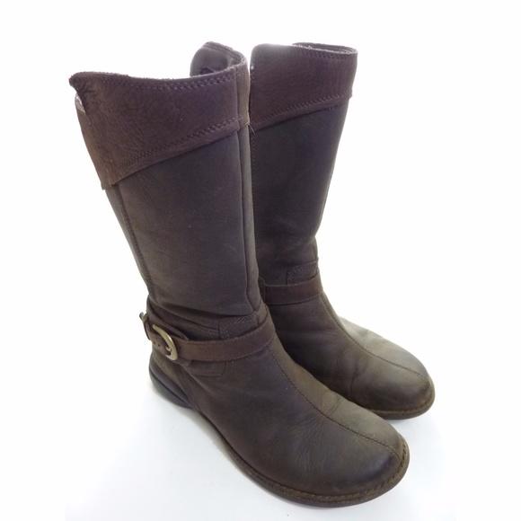 533c4510323 Merrell Mid Calf Boots 7.5 buckle down Captiva