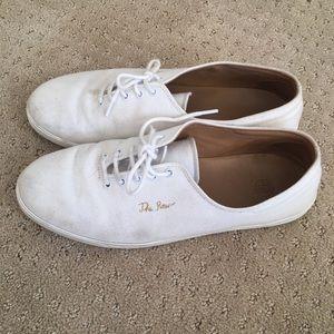 63002220a7c7 The Row Shoes - The Row Dean Canvas White tennis shoe