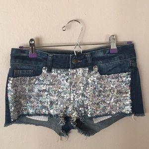 Pink (Victoria's secret) shorts