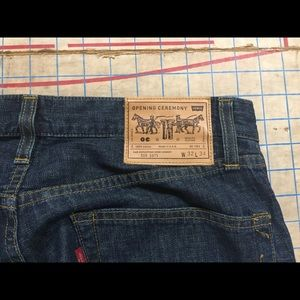 Opening Cermony x Levi's 1975 505 jean size 32