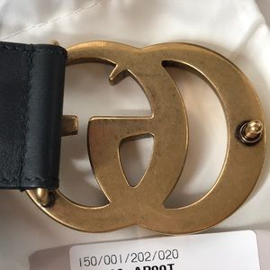 957258554cd Gucci Accessories - NOT taking OFFERS! Authentic Gucci GG Marmont Belt