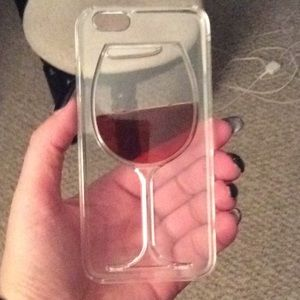 Accessories - iPhone 6 wine phone case