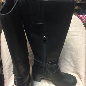 71f06cd6ea3 Women's UGG Lana Tall Black Leather Boots 1012904
