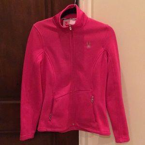 Spyder pink beautiful jacket worn 1 x