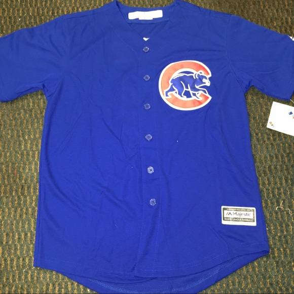 best website 41954 77707 Youth Chicago Cubs #9 Javier Baez Jersey NWT