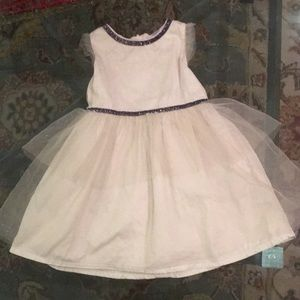 Baby Champagne Sparkle Dress
