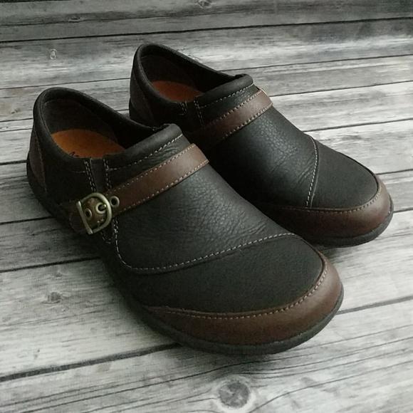 Merrell Dassie Buckle Slipon Shoes