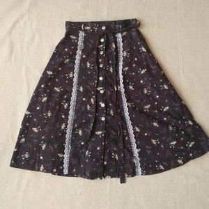 Small Prairie Skirt - Handmade