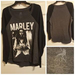 Bob Marley long sleeve tee