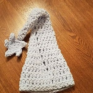   Sale    Knitted Cap Hat in Powder Blue