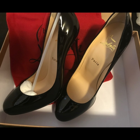 new product 1bd87 7f664 Authentic Christian Louboutin Fifi Patent 120 9.5