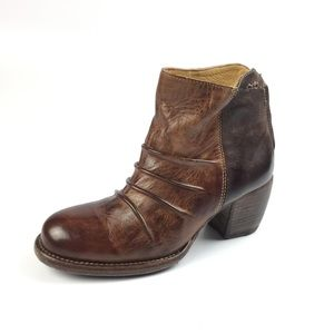 Bed Stu Arcane Rustic Teak Brown Booties NWT 7 8