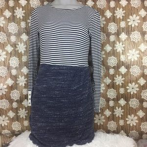 Anthropologie Dolan mix stripe dress