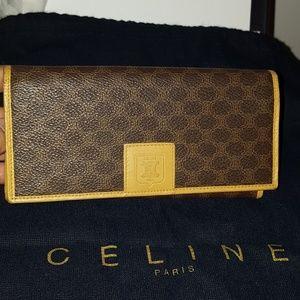 Sold 💯Authentic Celine  long wallet🎉🎉🎉
