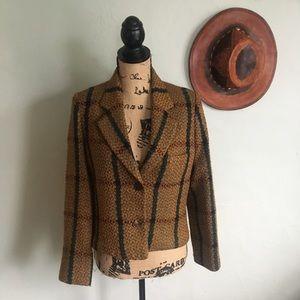 Vintage Alan Austin Beverly Hills tweed jacket