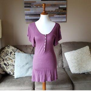 BCBG Maxazria Purple Mini Dress