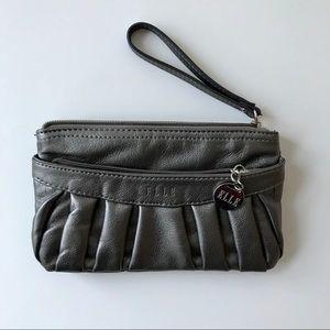 Sale 💕 ELLE Clutch Purse (Silver/Gray)