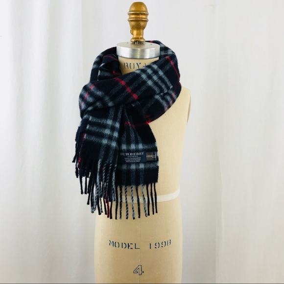 ceadd39e3c5f Burberry Accessories - Burberry Heritage Check Cashmere Scarf