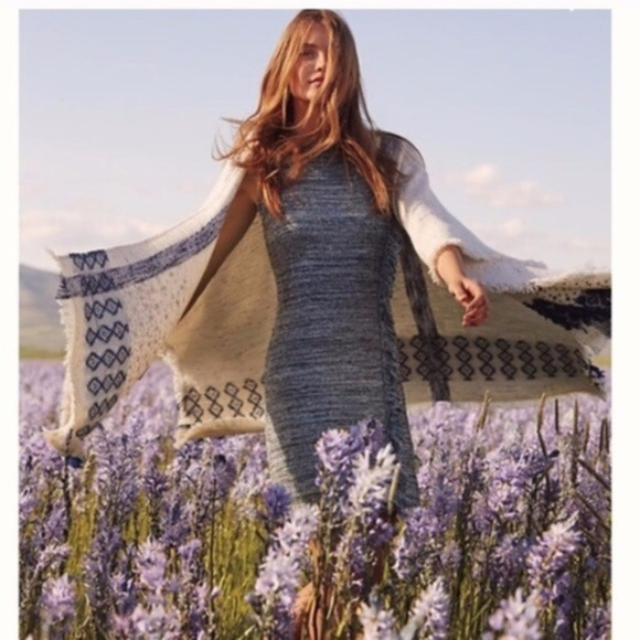 0a27ba4b13 Anthropologie Dresses   Skirts - FINAL! Anthro Holding Horses Fringe  Sweater Dress