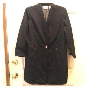Chicos's Jean Coat! Lightweight!