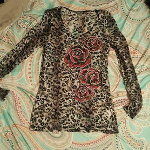 Super cute lace shirt