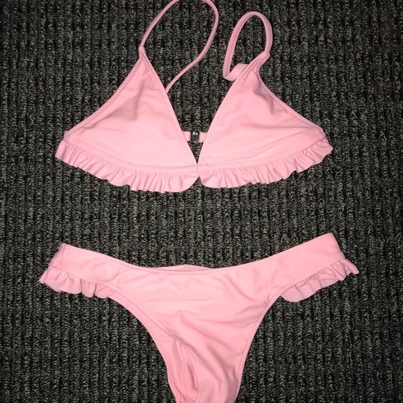 dd7f7a68466 khassani swimwear Other - Nazare Soft Pink Top & Bottom - Khassani Swim Suit