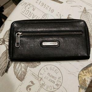 Rebecca Minkoff zip around wallet