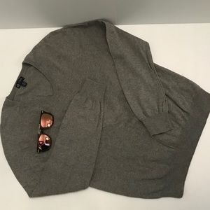 Men's J.Crew Gray V neck sweater