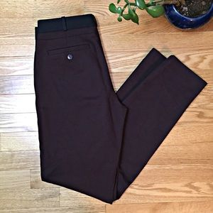 Club Monaco Burgundy Skinny Pants Size 6