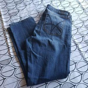 Kut from the Kloth Catherine Boyfriend Blue Jeans