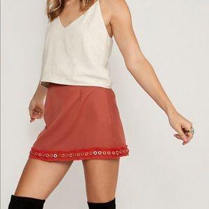 NWT Morris Day Roxy Mini Skirt