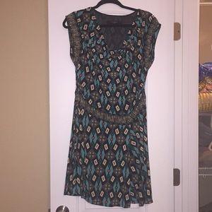 Nine West Geometric Print Dress