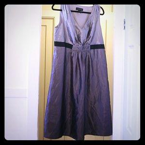 Lane Bryant Silver Dress