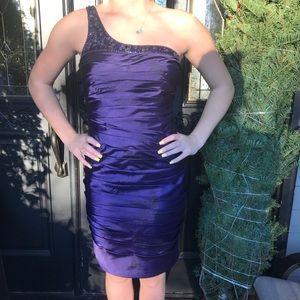 Purple Homecoming dress