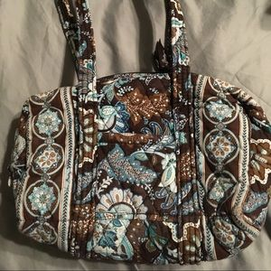 Vera Bradley Java Blue pattern bag