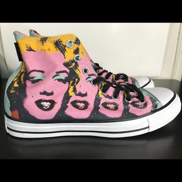 b7ff84d255a4c5 Chuck Taylor All Star Andy Warhol Marilyn Monroe