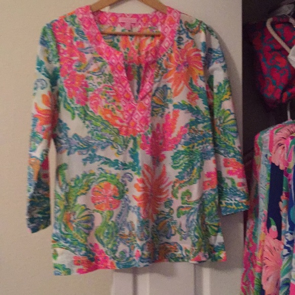 Lilly Pulitzer Tops - Lilly Pulitzer Tunic