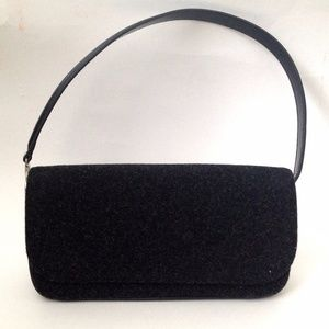 Dolce & Gabbana Small Wool Shoulder Accordion Bag