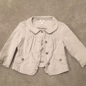 ANN TAYLOR Loft summer casual jacket small petite
