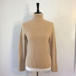 [Valerie Stevens] 100% cashmere turtleneck sweater
