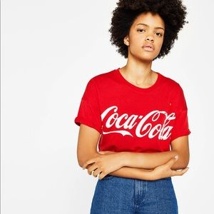 087c9cd7c59 vintage Tops - Vintage Coca Cola oversized tee shirt