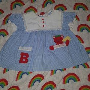 Vintage baby girls dress