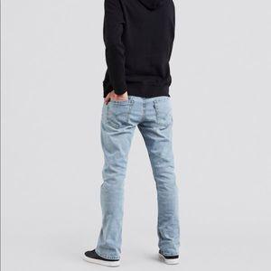 Levi's 527 Slim Boot Cut Stretch Jeans
