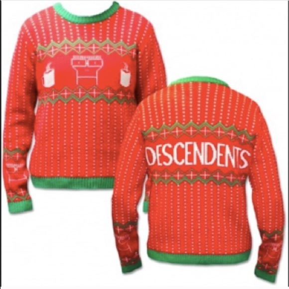 descendents nwt christmas sweater unisex size med - Descendents Christmas Sweater