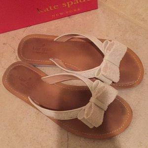 Kate spade sandals with bows!