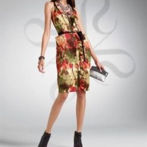 Vera Wang All Over Floral Dress